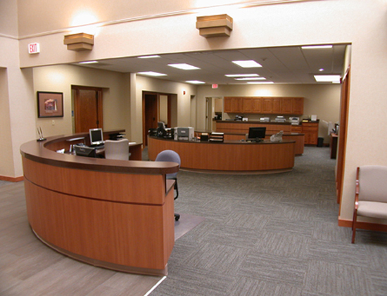 The Primary Decision To Update Citizens Community Credit Union (CCCU) Was  Two Fold. Loan Customers Needed A Visual Landmark. By Pulling The Reception  Desk ...