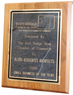 Fort Dodge Chamber of Commerce - Small Business of the Year, 2000